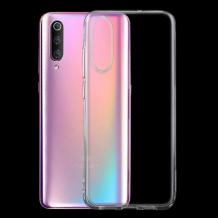 Силиконов калъф / гръб / TPU NORDIC Jelly Case за Xiaomi Mi 9 SE - прозрачен