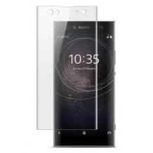 3D full cover Tempered glass screen protector Sony Xperia XA2 Ultra / Извит стъклен скрийн протектор Sony Xperia XA2 Ultra - прозрачен