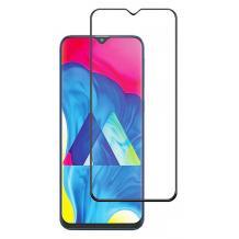3D full cover Tempered glass screen protector Samsung Galaxy A40 / Извит стъклен скрийн протектор Samsung Galaxy A40 - черен