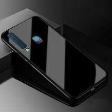 Луксозен стъклен твърд гръб за Huawei P Smart Z / Y9 Prime 2019 - черен