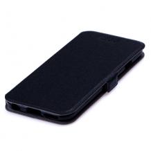 Кожен калъф Flip тефтер Flexi със стойка за Huawei Honor 20 / Huawei Nova 5T - черен