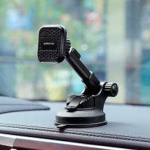 Магнитна универсална стойка за кола Borofone Vanda Мagnetic Holder въртяща се на 360 градуса - черна