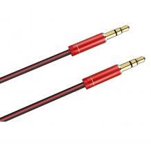 Аудио кабел AUX LDNIO LS-Y01 3.5мм / 1м. - червен
