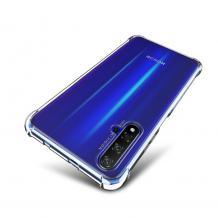 Удароустойчив силиконов калъф / гръб / TPU за Huawei Nova 5T / Honor 20 - прозрачен
