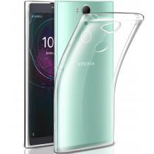 Ултра тънък силиконов калъф / гръб / TPU Ultra Thin за Sony Xperia XA2 Plus - прозрачен