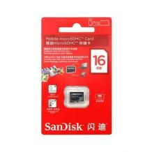 Карта памет Micro SDHC Card SanDisk 16GB Class 10
