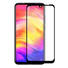 3D full cover Tempered glass screen protector Huawei Honor 20 Lite / Извит стъклен скрийн протектор Huawei Honor 20 Lite - черен