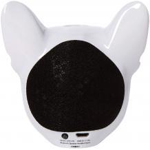 Bluetooth тонколона Dog Head / Dog Head Bluetooth Wireless Stereo Speaker - бяла