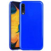 Силиконов калъф / гръб / TPU NORDIC Jelly Case за Huawei Y5 2019 - син
