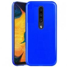 Силиконов калъф / гръб / TPU NORDIC Jelly Case за Huawei Mate 20 Lite - син