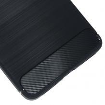 Силиконов калъф / гръб / TPU за LG K8 2018 - черен / carbon