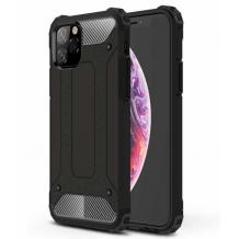 Силиконов гръб TPU Spigen Hybrid с твърда част за Apple iPhone 11 Pro Max 6.5'' - черен