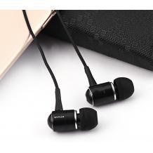 Оригинални стерео слушалки AWEI ES-Q3 / handsfree / 3.5mm за смартфон - черни