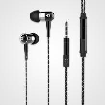 Оригинални стерео слушалки Doolike SYE01 / handsfree / - черни