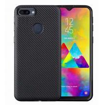 Силиконов калъф / гръб / TPU за Huawei Honor View 20 - черен / carbon