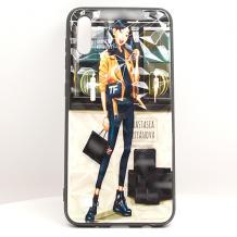Луксозен твърд гръб 3D за Apple iPhone 7 Plus / iPhone 8 Plus - Girl / призма