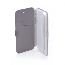 Кожен калъф Flip тефтер Flexi със стойка за Huawei Honor 20 / Huawei Nova 5T - сив
