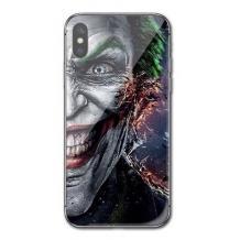 Луксозен стъклен твърд гръб за Samsung Galaxy A10 - Joker Face