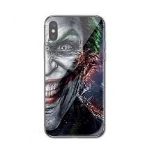 Луксозен стъклен твърд гръб за Apple iPhone X / iPhone XS - Joker Face
