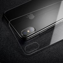 Стъклен протектор Baseus за гръб / 9H Magic Glass Real Tempered Glass Protector Baseus за Apple iPhone X