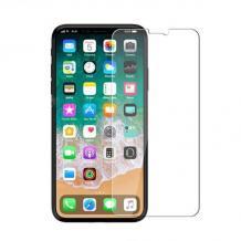 Ултра тънък стъклен скрийн протектор Baseus / 9H Magic Glass Real Tempered Glass Screen Protector Baseus 0.3mm за дисплей на Apple iPhone X