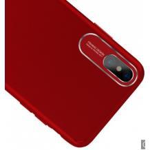 Луксозен твърд гръб FSHANG Jerry Series за Apple iPhone X / iPhone XS - червен