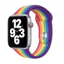 Силиконова каишка за Apple Watch 42 / 44мм - дъга