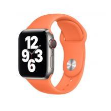 Силиконова каишка за Apple Watch 42 / 44мм - цвят праскова