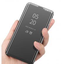 Луксозен калъф Clear View Cover с твърд гръб за Xiaomi Mi A3 - черен