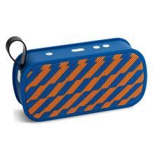 Мини Bluetooth тонколона Music M168 / Mini Bluetooth Speaker Music M168 - синьо и оранжево