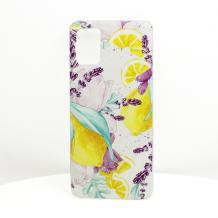 Луксозен силиконов калъф / гръб / TPU за LG K40S - Summer / лимони
