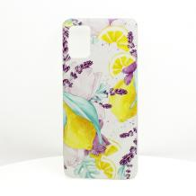 Луксозен силиконов калъф / гръб / TPU за Motorola Moto G8 Power Lite - Summer / лимони