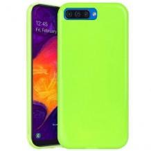 Силиконов калъф / гръб / TPU NORDIC Jelly Case за Apple iPhone 6 / iPhone 6S - лайм