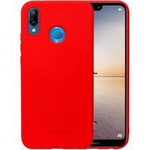 Силиконов калъф / гръб / TPU MOLAN CANO Jelly Case за Huawei P30 Lite - червен / мат