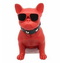 Bluetooth тонколона AeroBull / AeroBull Portable Bluetooth Speaker - червена / куче