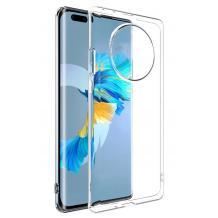 Ултра тънък силиконов калъф / гръб / TPU Ultra Thin за Huawei Mate 40 Pro - прозрачен