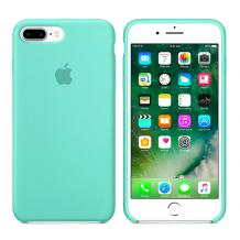 Оригинален гръб Silicone Cover за Apple iPhone 7 Plus / iPhone 8 Plus - мента