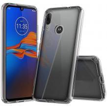 Ултра тънък силиконов калъф / гръб / TPU Ultra Thin за Motorola Moto E6s - прозрачен