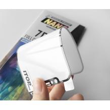 Удароустойчив протектор Full Cover / Nano Flexible Screen Protector с лепило по цялата повърхност за дисплей на Samsung Galaxy M10 - черен