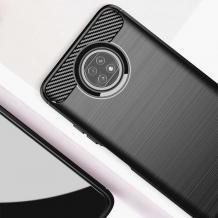 Силиконов калъф / гръб / TPU за Xiaomi Redmi Note 9T 5G - черен / carbon
