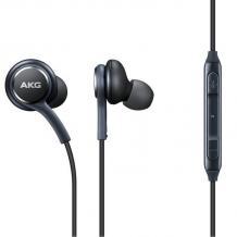Оригинални стерео слушалки AKG EO-IG955 / handsfree / за Samsung Galaxy S10 - черни
