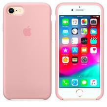 Оригинален гръб Silicone Cover за Apple iPhone 7 / iPhone 8 - пепел от рози