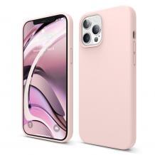 Луксозен силиконов калъф / гръб / Nano TPU за Apple iPhone 12 Mini 5.4''' - розов