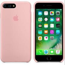 Оригинален гръб Silicone Cover за Apple iPhone 7 Plus / iPhone 8 Plus - пепел от рози