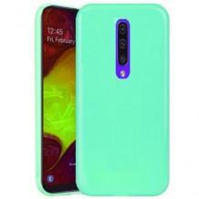 Луксозен силиконов калъф / гръб / TPU NORDIC Jelly Case за Xiaomi Mi 9T - мента