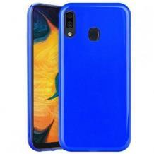 Силиконов калъф / гръб / TPU NORDIC Jelly Case за Huawei P30 Lite - син