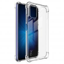 Луксозен силиконов калъф Carbon / TPU за Xiaomi Poco M3 - черен / Carbon