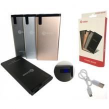 Универсална външна батерия / Universal Power Bank Vennus / Micro USB Data Cable 9000mAh - черна