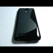Силиконов калъф / гръб / TPU S-Line за Alcatel One Touch Idol 2 mini OT-6016 - черен