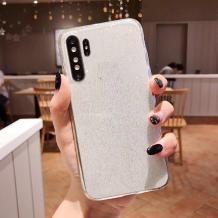 Силиконов калъф / гръб / TPU Bling за Huawei P30 Pro - прозрачен / брокат